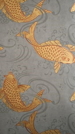 Derwent by Osborne & Little | Grey & Gold Wallpaper