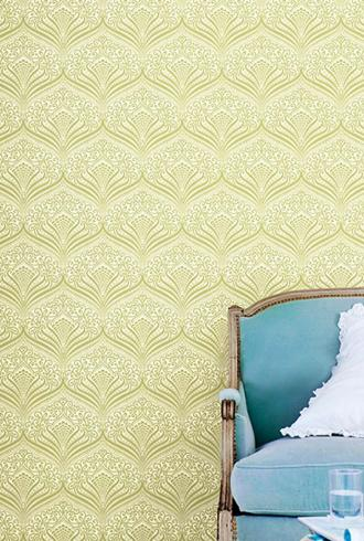 Madison Fan Damask By Today Interiors