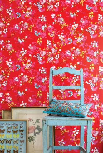 Pip Chinese Rose By Pip Wallpaper