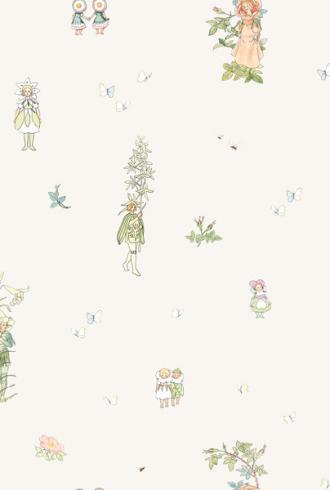 Blomsterfesten by Borastapeter
