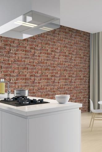 ArtiStick Urban Brick Red by Arthouse