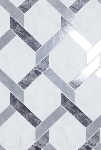 Interlock Marble by Arthouse