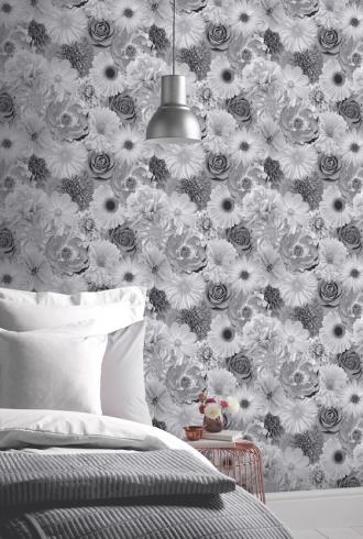 Foil In Bloom Mono by Arthouse