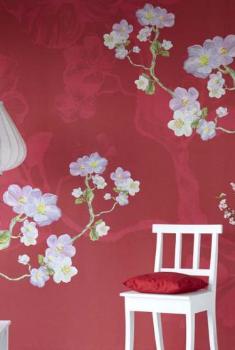 L Arbre Chinois Fleuri By Eijffinger