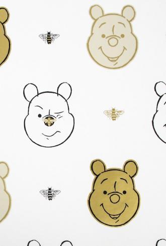 Bee Winnie the Pooh by Graham & Brown