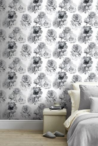 Floral Bloom Mono by Arthouse
