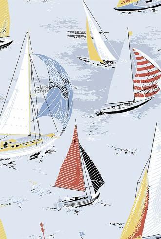 Marstrand Sail By Boras Tapeter