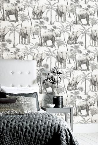 ArtiStick Elephant Grove Charcoal by Arthouse