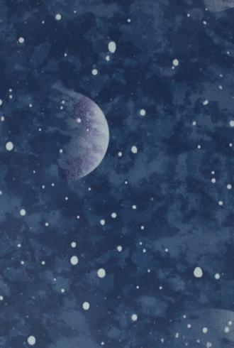 Planetarium Blue - Glow In The Dark by Graham & Brown