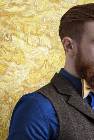 Van Gogh Wheatfield By Tektura