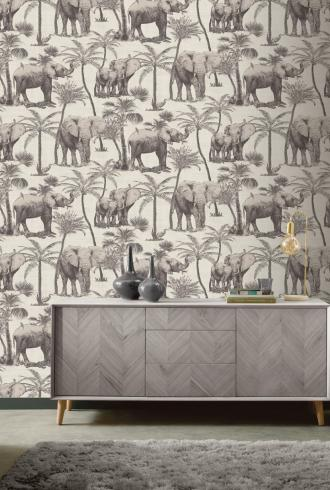 Safari Elephant by Arthouse