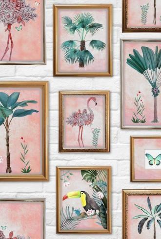 Tropical Frame by Fresco
