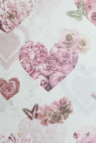 Floral Hearts by Arthouse