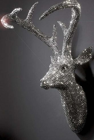 Crystal Studded Stag By Arthouse