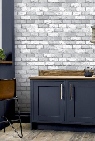 ArtiStick Metallic Brick by Arthouse