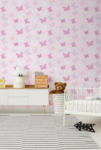 Butterfly Pink by Graham & Brown