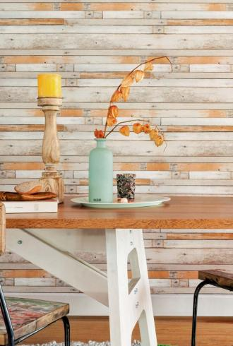 More Than Elements Scrapwood By BN Wallcoverings