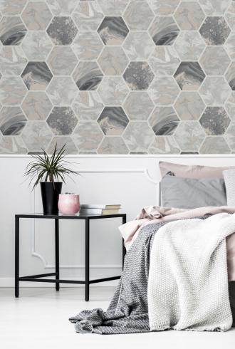 Marbled Hex by Arthouse