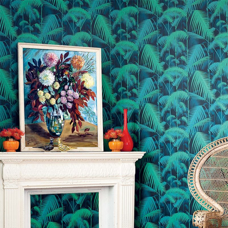 Palm Jungle Restyled By Cole and Son