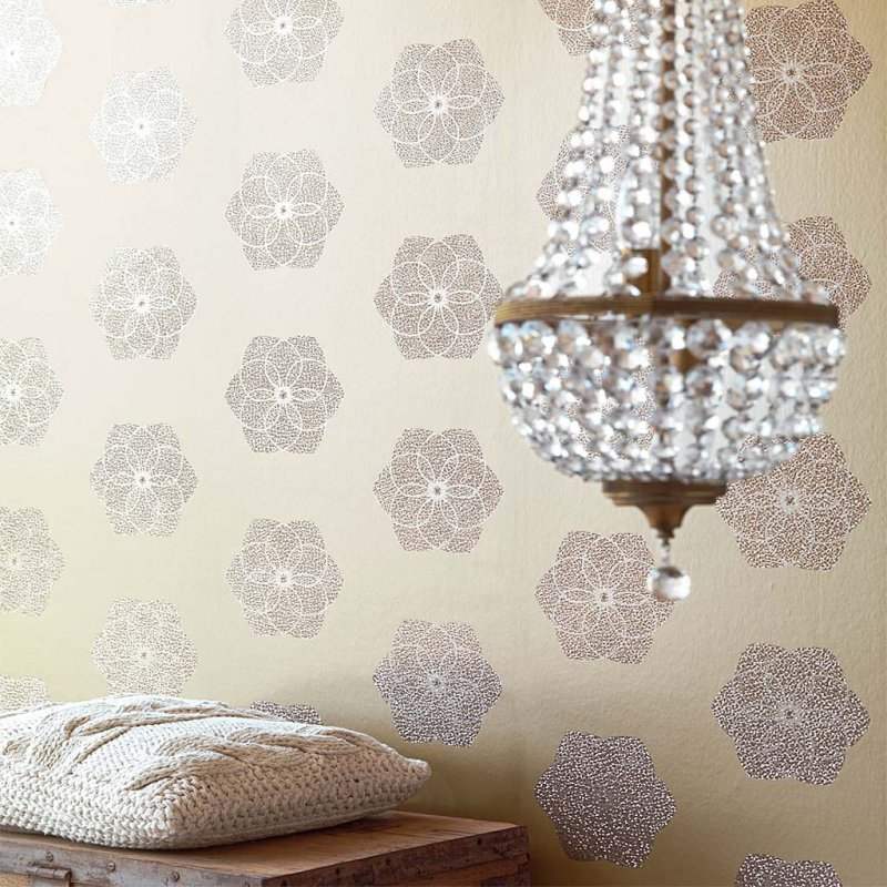Chic Holographic Flower By Eijffinger