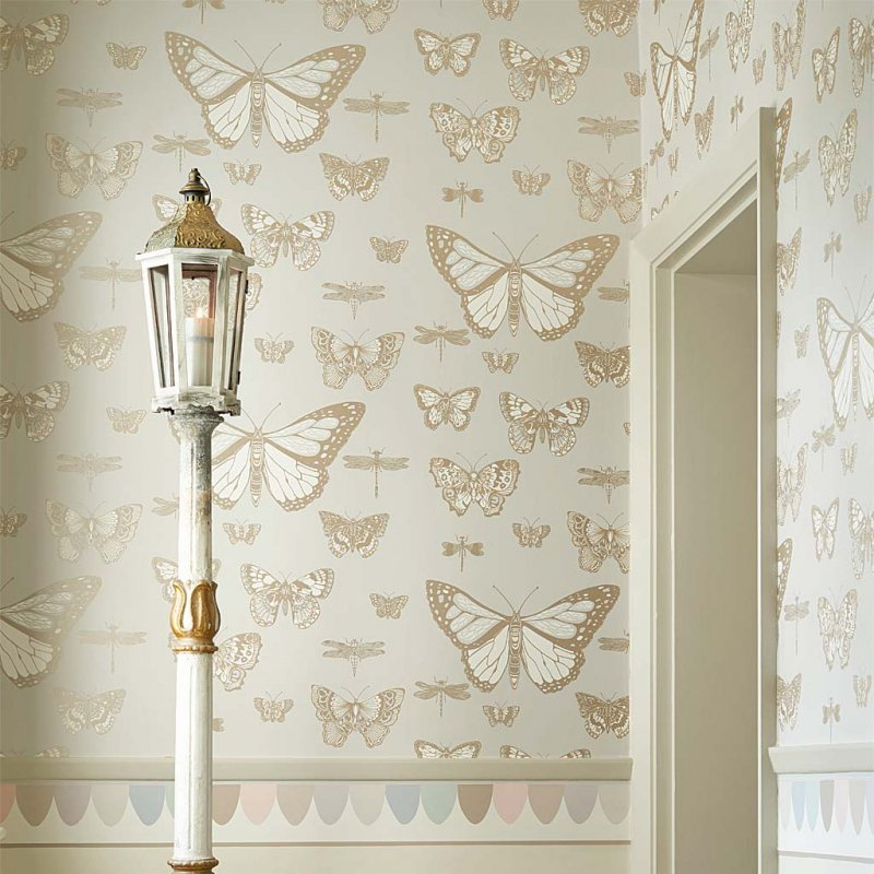 Butterflies And Dragonflies By Cole and Son