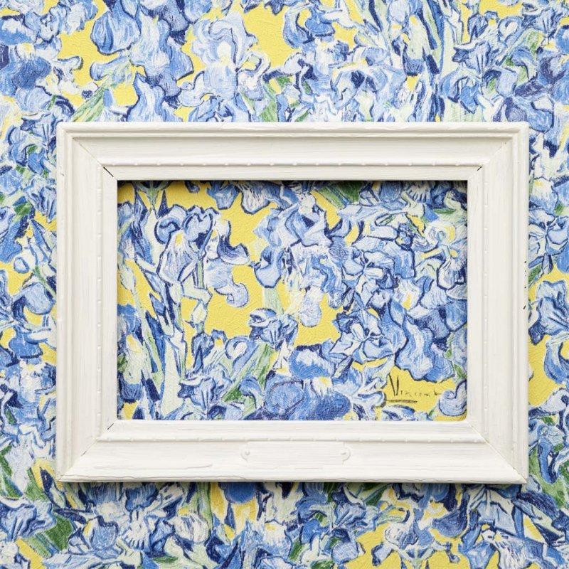 Van Gogh Irises By Tektura