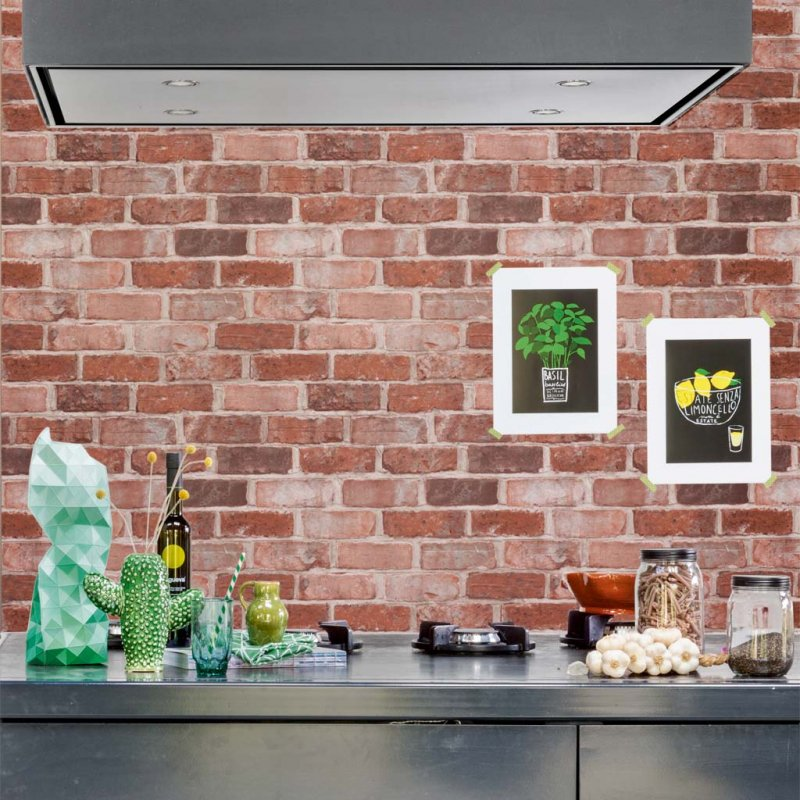 More Than Elements Brick By BN Wallcoverings
