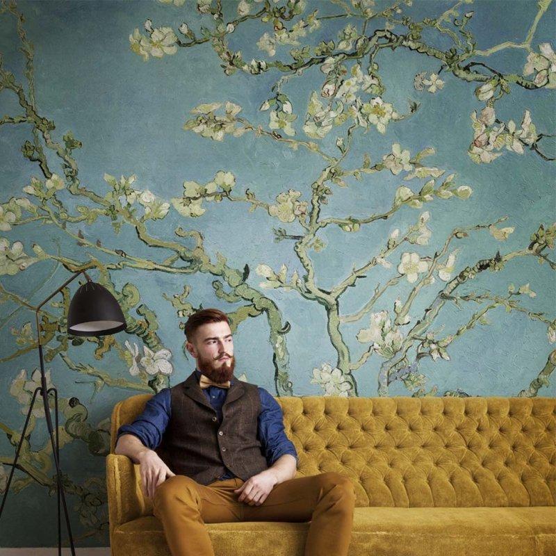 Van Gogh Almond Blossom Digital Panel By BN Wallcoverings
