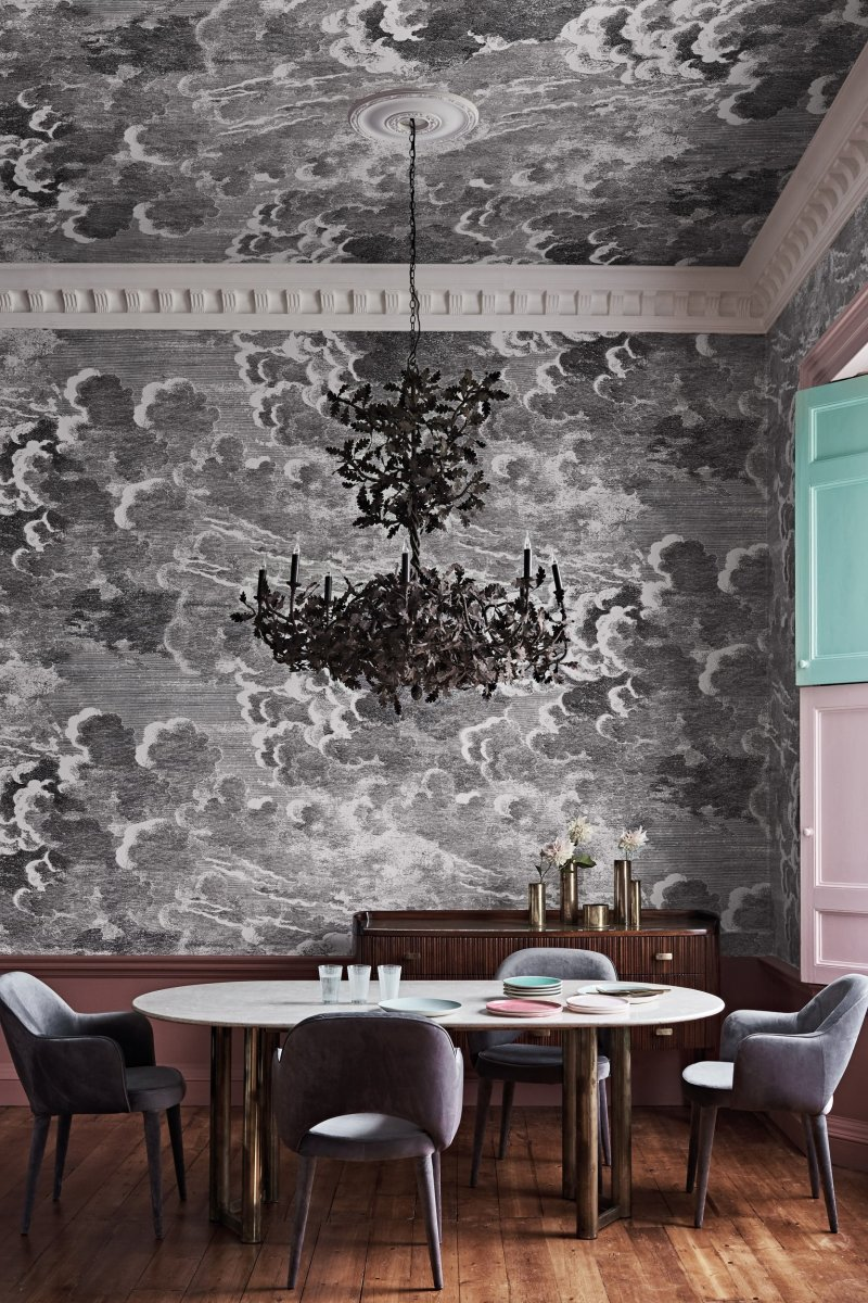 Nuvole (custom mural) by Cole & Son