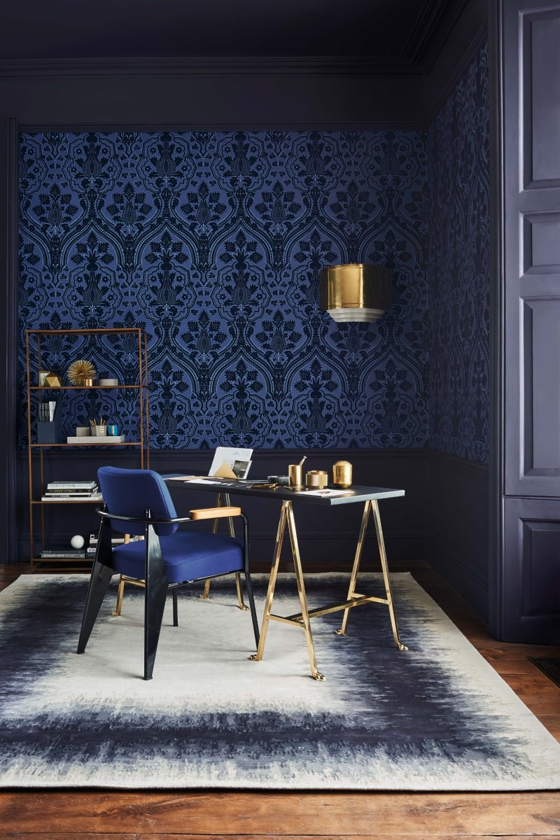 Pugin Palace Flock by Cole & Son