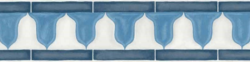 Zellige Border by Cole & Son