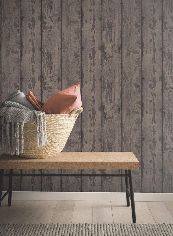Mahogany Wood by Arthouse