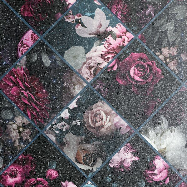 Floral Collage by Arthouse
