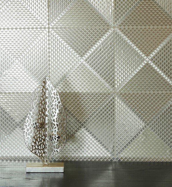 Geo Diamond Foil by Arthouse