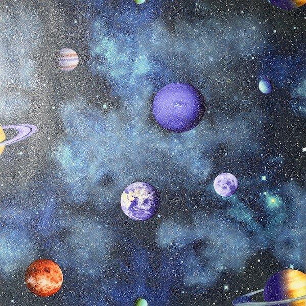 Solar Navy Multicoloured by Arthouse