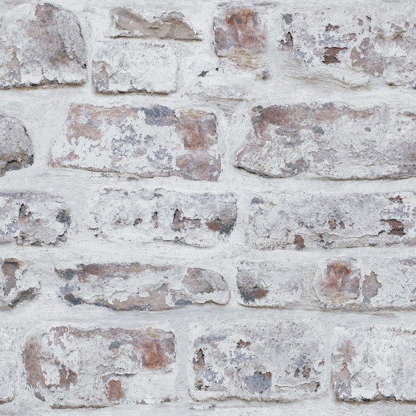 Whitewashed Wall by Arthouse