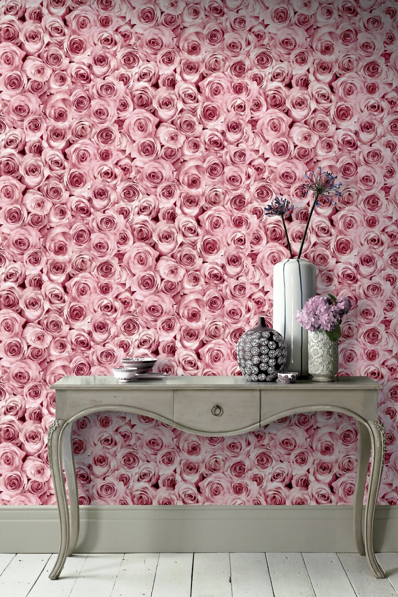 Rose Wall by Arthouse