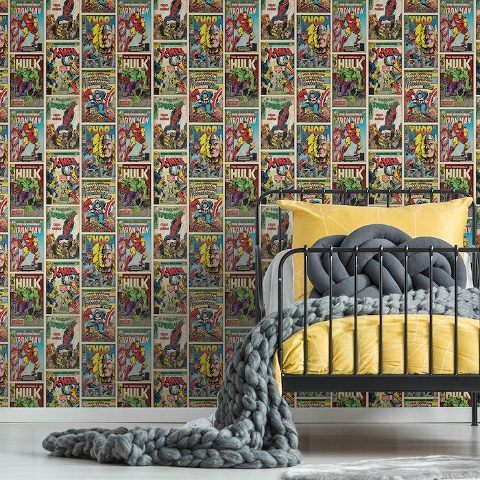 Action Heroes - Kids at Home by Graham & Brown