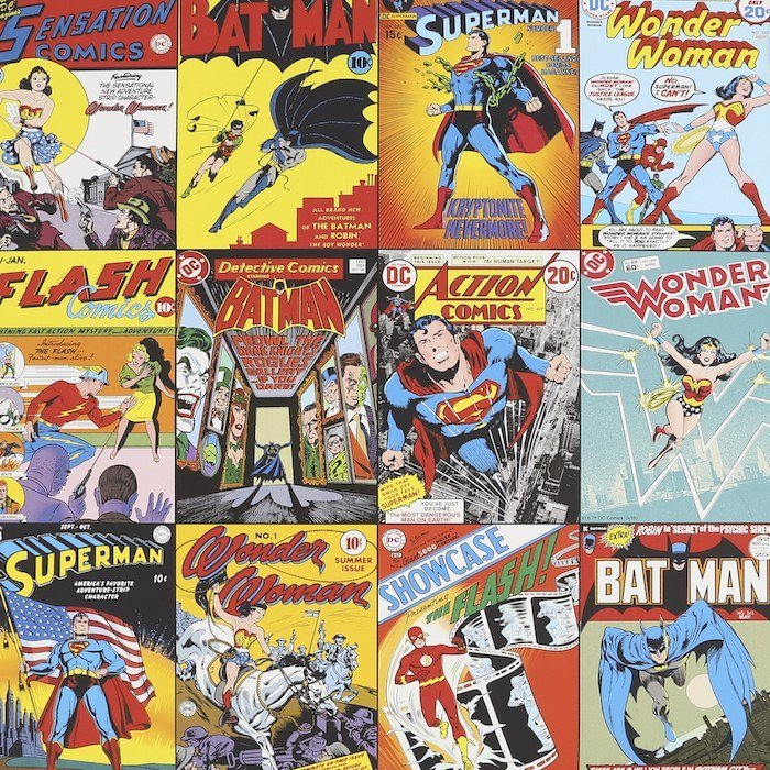 DC Comics Collection by Kids at Home
