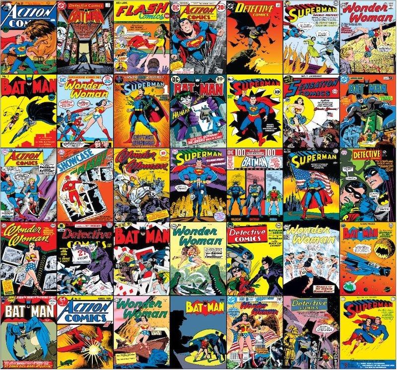 DC Comics Mural by Graham & Brown