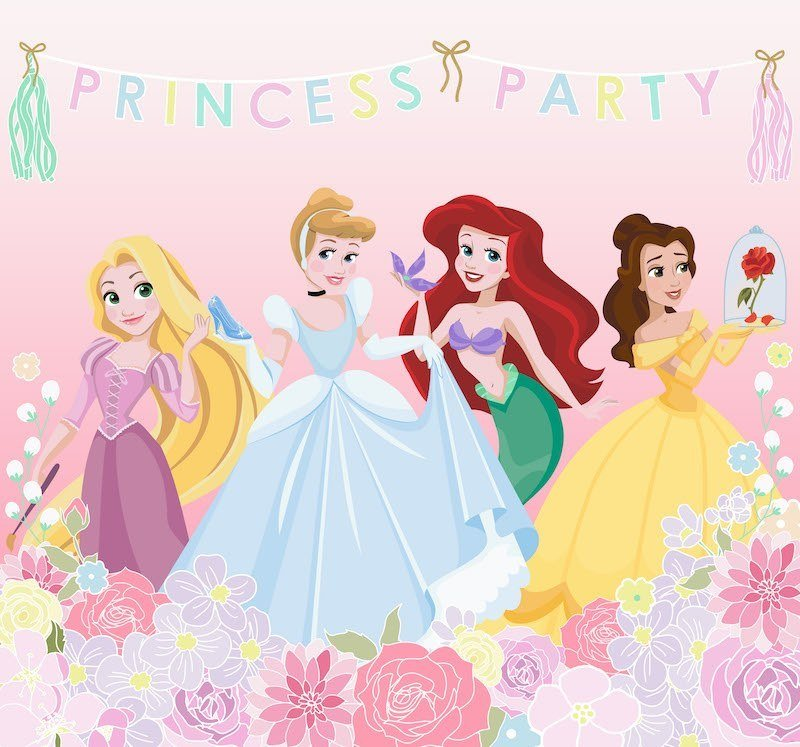Princess Party Mural by Graham & Brown