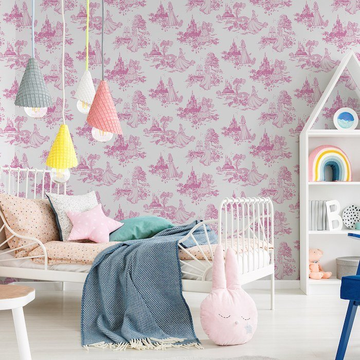 Princess Pink Toile by Kids at Home