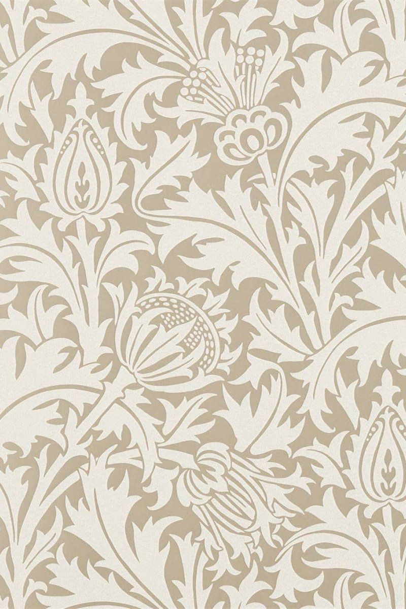 Pure Thistle ( Beaded) by Morris & Co