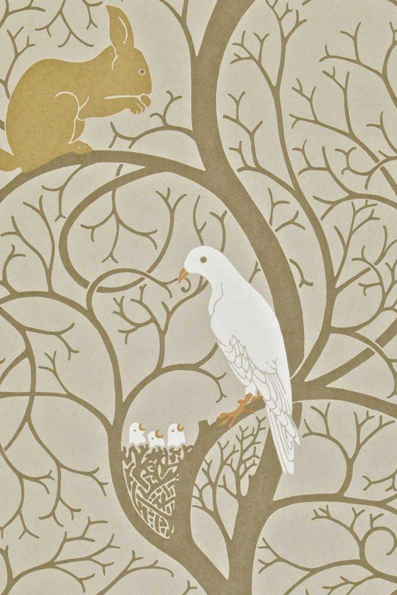 Squirrel & Dove by Sanderson